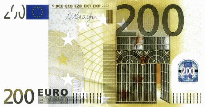 P19Z European Union 200 Euro Year 2002 (Dragi)
